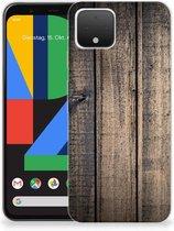 Google Pixel 4 Bumper Hoesje Steigerhout