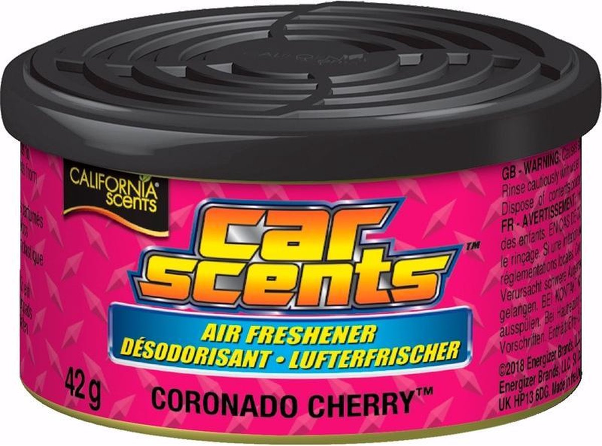 California Scents Luchtverfrisser Blik Coronado Cherry 42 Gram