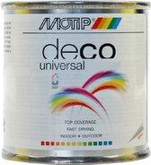 Motip Deco paint Mat Zwart - 100ml
