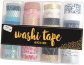 Washi Tape 40pcs X 3mtr | 40 verschillende designs | Bullet journal