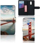 OnePlus 7 Flip Cover Golden Gate Bridge