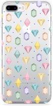 iPhone 7 Plus Hoesje Diamonds