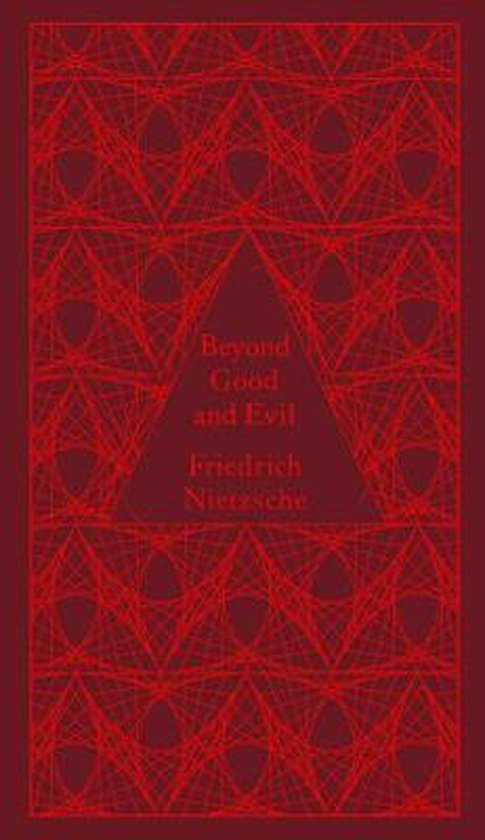 Boek cover Beyond Good and Evil van Friedrich Nietzsche (Hardcover)