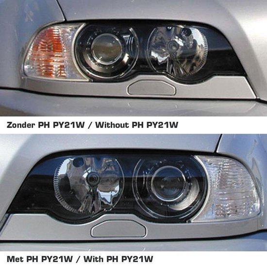 Philips SilverVision PY21W 21W (BAU15S) Knipperlichtlampen, set à 2 stuks