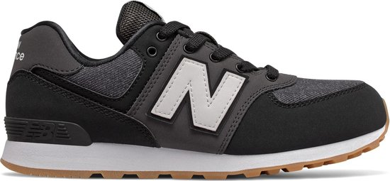 New Balance 574 Sneakers - Maat 40 - Unisex - Zwart/ grijs/wit