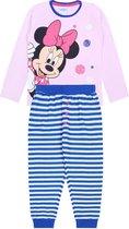 Roze meisjespyjama met streepjes Minnie Mouse DISNEY 104 cm