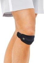 Bracoo KP40 Knieband - verstelbare peesondersteuning – ideaal voor springers/lopers knie, patella luxatie, OSD & ITBS - Zwart