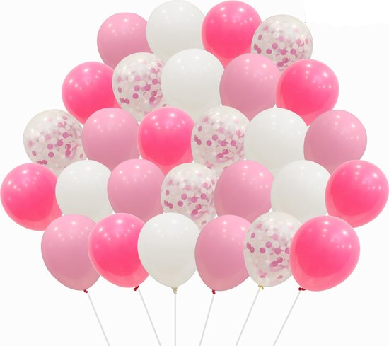 100 Stuks Ballonstokjes Ballonnen Sticks Houders en Koppen (50+50)  en 2st Ballonnen Luchtpomp MagieQ Versiering kindersfeesje bruiloft
