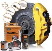 Foliatec Remklauwlakset - speed geel - 3 Componenten