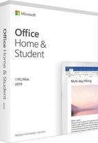 Microsoft Office Home & Student 2019 - voor 1 PC - Meerdere Talen - Levenslange Licentie - Retailverpakking