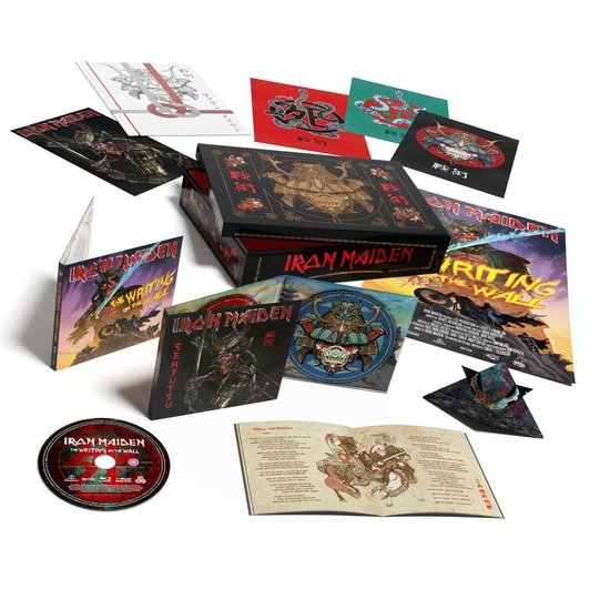 CD cover van Senjutsu (2CD+1Blu-ray) (Limited Edition) van Iron Maiden