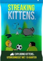 Exploding Kittens Streaking Kittens Uitbreiding - Nederlandstalig Kaartspel