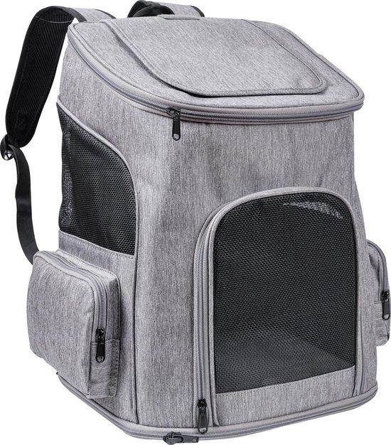 Hondenrugzak - Draagtas Hond - Hondentas - Reistas Kat - Huisdieren Reistas - Max 8 kg - Maat L - 42x30x25cm