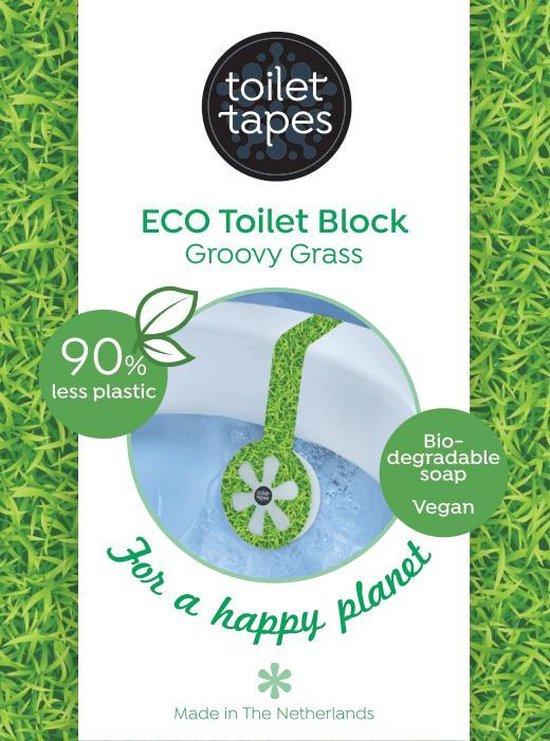 Toilet Tapes - duurzaam toiletblokje - Groovy Grass - per stuk