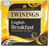Twinings English Breakfast - 100 Tea Bags