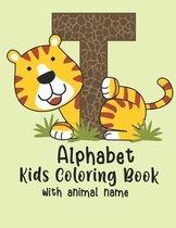 Alphabet Kids Colouring Book