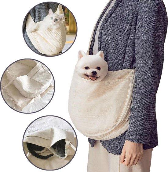 Hondentas - Draagtas Hond - Reistas Hond - Kattentas - Reistas Kat - Katten Draagtas - Tot 8 KG - Handgemaakt - Duurzaam & Comfortabel