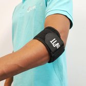 MyFit Elleboogbrace   Tenniselleboog   Tennisarm   Elleboog brace in zwart   Golf Elleboogbrace 6306   One Size