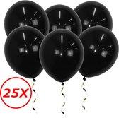 Zwarte Ballonnen Verjaardag Versiering Zwarte Helium Ballonnen Halloween Feest Versiering Zwart 25 Stuks