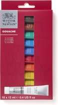 Winsor & Newton Gouache Beginners set 10x12ml - Black