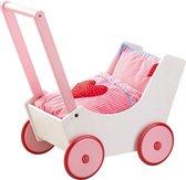 Haba Kinderwagen Poppenwagen met harten