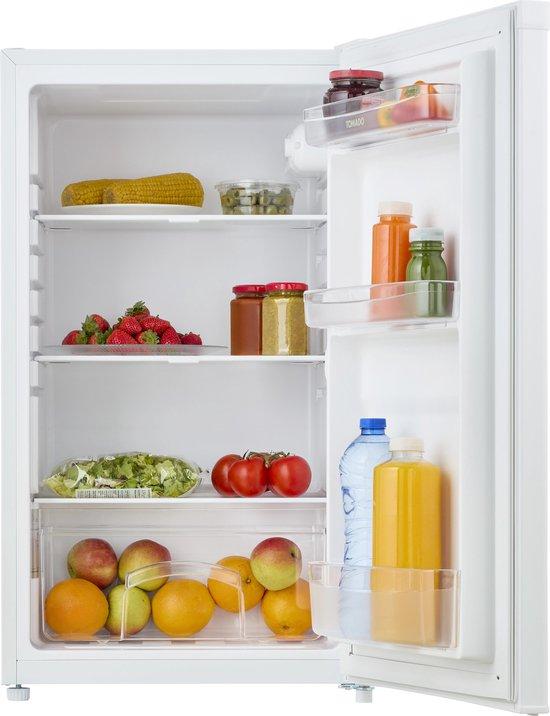 Tafelmodel koelkast: Tomado TLT4801W - Tafelmodel koelkast -  91 liter - 3 draagplateaus - wit, van het merk Tomado