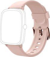 Smartwatch-Trends S205L – Vervanging Horlogeband –  Siliconen bandje - Roze
