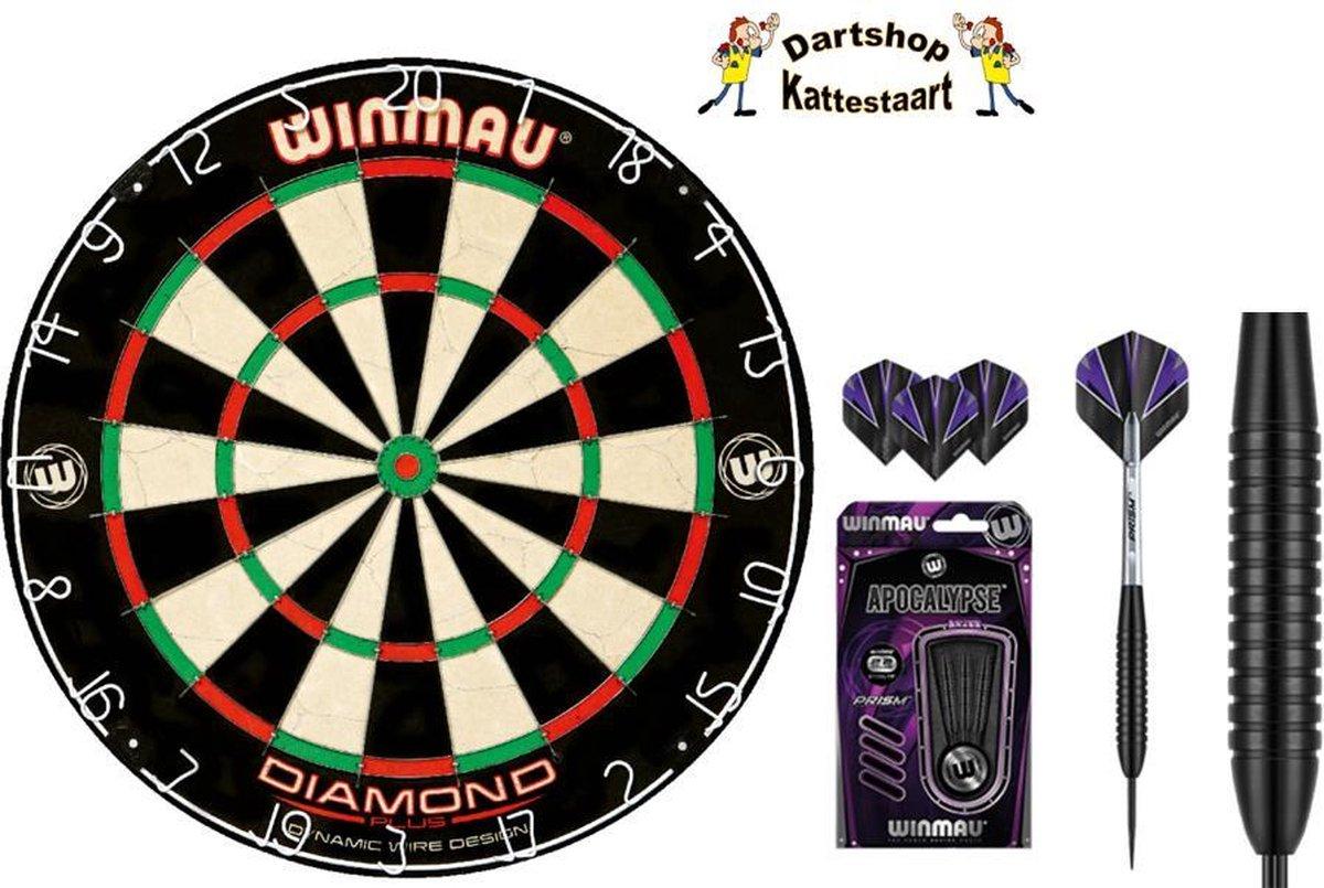 Winmau Diamond Dartbord Set Apocalypse