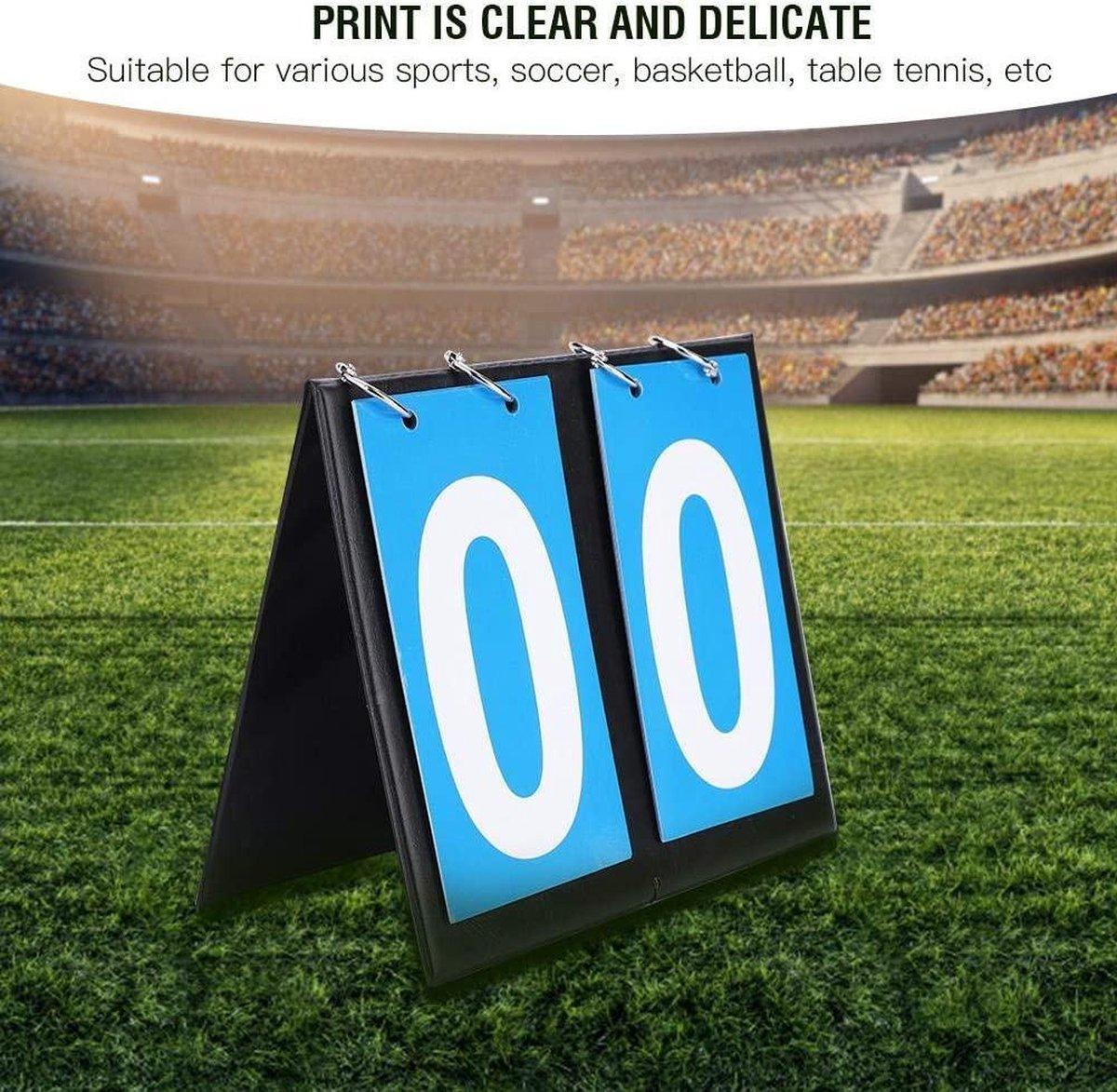 Dioche - Portable Sport Scorebord -16,5 x 20,5 cm