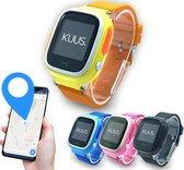 KUUS. W1 - GPS horloge kind, smartwatch voor kinderen met GPS tracker - Walkie Talkie functie - Geel/ Oranje