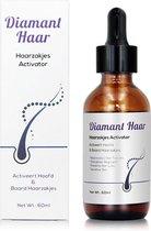 Diamant Haar - Haarzakjes Activator - Alternatief voor Minoxidil 5% - Haarserum - Haaruitval - Haar Groei Serum - Baardgroeimiddel - Baard Groei - Baard Stimulator - Biotine -Biotin - Haargroei - Baardgroei - Baardolie - Haarverlies - Baardverzorging