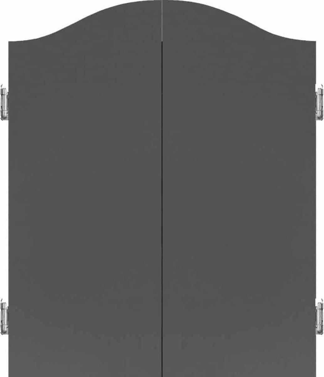 Mission Deluxe Plain Grey Dartkabinet +