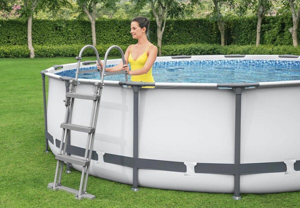 Bestway Zwembad Frame Pool Steel Pro™ Ø 366x122cm - Filterpomp - Accessoires
