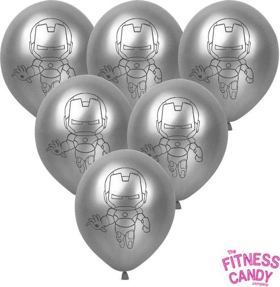 Iron Man Ballonnen - set van 6