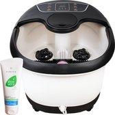 tGenot   XXL Massage Voetenbad - 12L - Automatische Voetmassage - Tot 48°C Verwarming - Inclusief voetcrème