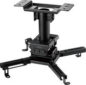 DELTACO OFFICE ARM-0410 Plafondbeugel - Geschikt voor Projectoren - Draaibaar en Kantelbaar - Zwart