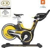 Hometrainer - Horizon Fitness Indoor Cycle GR7 Spinningfiets - Geel | Zwart