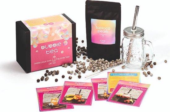 Bubble Tea Starters Kit - Maak nu uw eigen Bubble Tea met echte Tapioca...