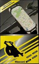 Telefoonhouder fiets - Smartphone Telefoon houder - Fiets telefoonhouder - telefoonhouder - Universeel - Motor - Fiets - Kinderwagen