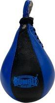 Rumble Speedball boksbal Leer Zwart - Blauw Speedbal