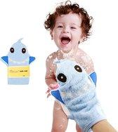 Baby washandje / Baby bad handschoen / Baby bath mitt / Baby shower glove / Baby wash cloth