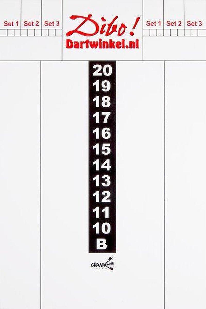 Dibo Dart scorebord 40x60