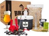 Brew Monkey Compleet Tripel - Bierbrouwpakket - Zelf bier brouwen pakket - Startpakket - Kerstcadeau Man - Kerstpakket