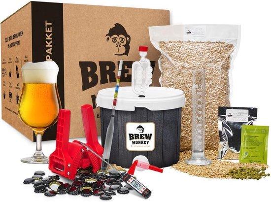 Brew Monkey Compleet Tripel - Bierbrouwpakket - Zelf bier brouwen pakket - Startpakket