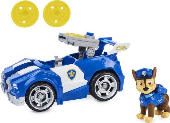 PAW Patrol De Film - Chase - Speelgoedvoertuig met actiefiguur