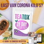 TeaTox™ 28 dagen afvallen detox - Thee - Detox + E-book 10 recepten
