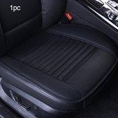 1 Stuk - Autostoelhoes - Auto Accessoires - Autohoes - Stoelhoezen Auto - Autostoel beschermer - Zwart - Universele - Leer