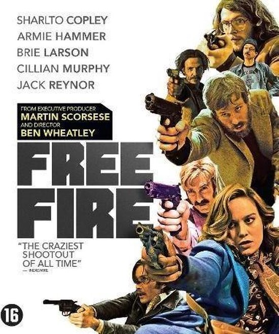 Free Fire (Blu-ray)