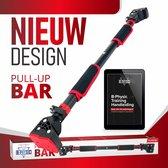 B-physic Pull Up Bar Incl. e-Book met Oefeningen - Optrekstang Deur - Thuis Sporten - Fitness Krachttraining - Pull Up Station