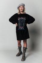 Colourful Rebel Desert Muse Dropped Shoulder Sweat Dress - Maat L
